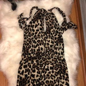 Leopard jumpsuit🐆